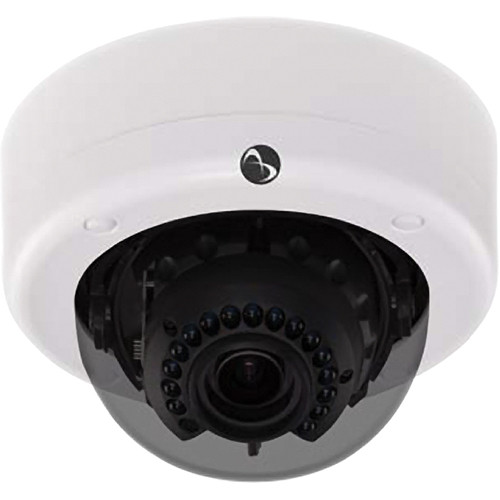 American Dynamics Discover 700 Vandal-Resistant IR Mini-Dome Camera (NTSC, White)