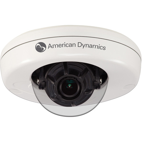 American Dynamics Illustra 600 ADCI610-M111 1080p D/N Vandal-Resistant Minidome with 2.80mm Lens (White)