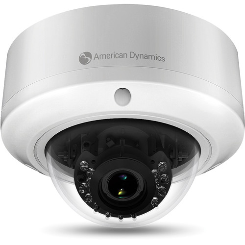 American Dynamics Illustra Flex 800 ADCI800F-D021 3MP D/N Vandal-Resistant IR Outdoor IP Minidome with 3-9mm Lens