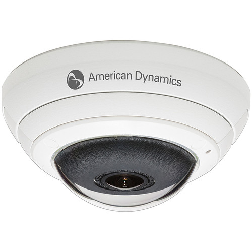American Dynamics Illustra Series ADCi825-F311 5MP Fisheye Vandal-Resistant PTZ IP Dome (White)