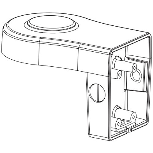American Dynamics ADCiM6WALLBK Indoor/Outdoor Wall Mount Kit for Illustra 600 IP Series Cameras (Black)