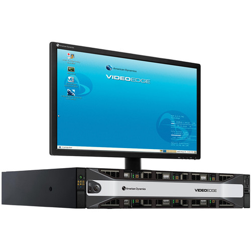 American Dynamics VideoEdge NVR 4.2 2U Rack-Mount Server with 4 Camera Licenses (33TB)