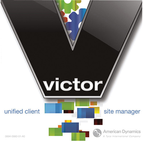 American Dynamics victor Site Manager Software with 5 Additional Concurrent Connections