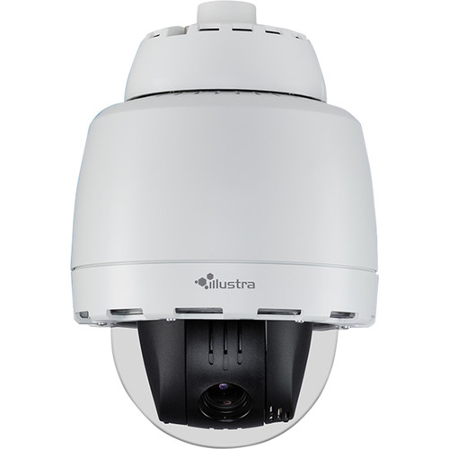 American Dynamics Illustra Pro 2MP Outdoor Vandal-Resistant PTZ Camera with Night Vision (Smoked Bubble)