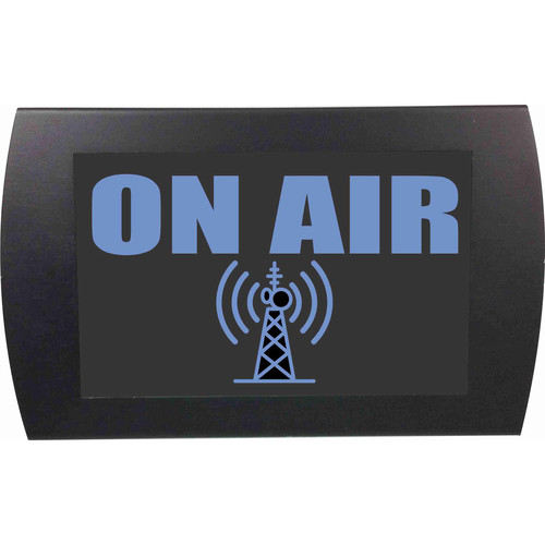 American Recorder ON AIR - LED Indicator Sign (Blue)
