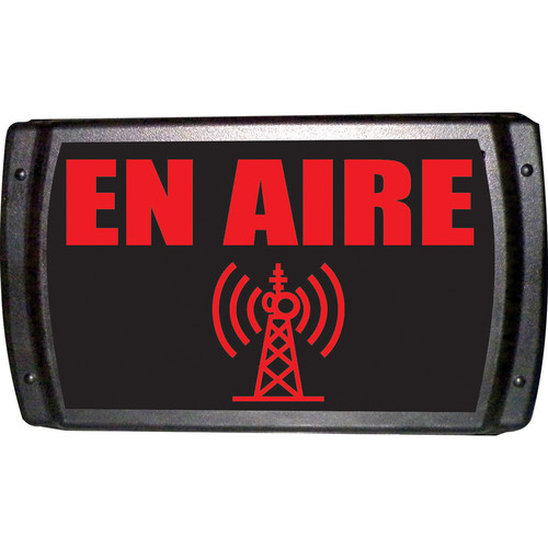 American Recorder ON AIR Sign with LEDs (Spanish, Red)