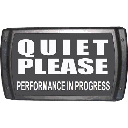 "American Recorder American Recorder ""QUIET PLEASE"" Sign"