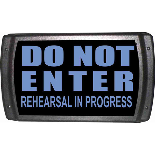 American Recorder OAS-2004-BL DO NOT ENTER Sign with LEDs (Blue)