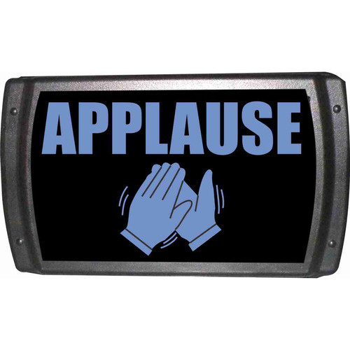 American Recorder OAS-2005-BL APPLAUSE Sign with LEDs (Blue)