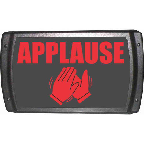American Recorder OAS-2005-RD APPLAUSE Sign with LEDs (Red)