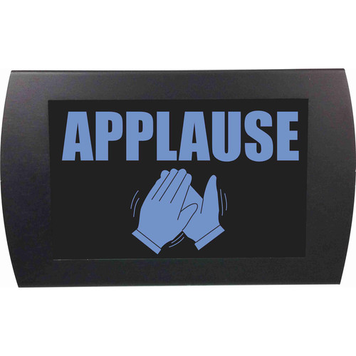 American Recorder APPLAUSE Indicator Sign with LEDs (Blue)