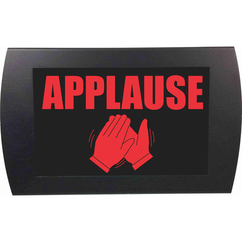 American Recorder APPLAUSE Indicator Sign with LEDs (Red)