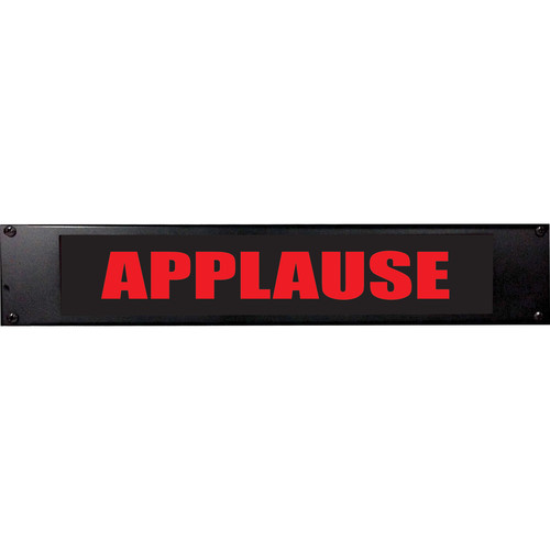 American Recorder APPLAUSE Sign with LEDs (2 RU, Red)