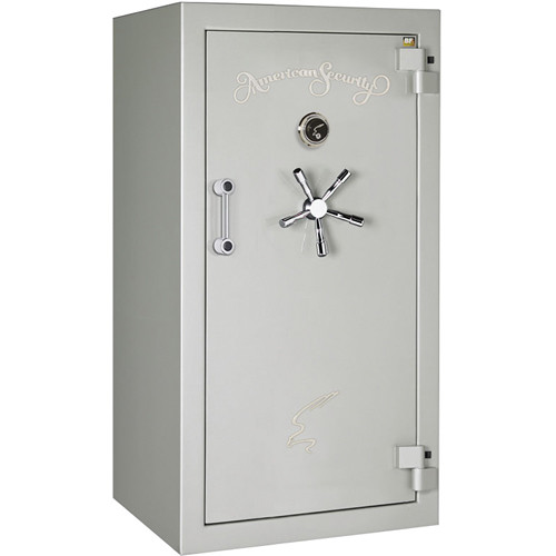 "American Security BF-Series Gun Safe (59.25 x 30 x 26"", High-Gloss Platinum Finish)"