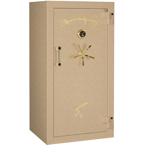 "American Security BF-Series Gun Safe (59.25 x 30 x 26"", Textured Sandstone Finish)"