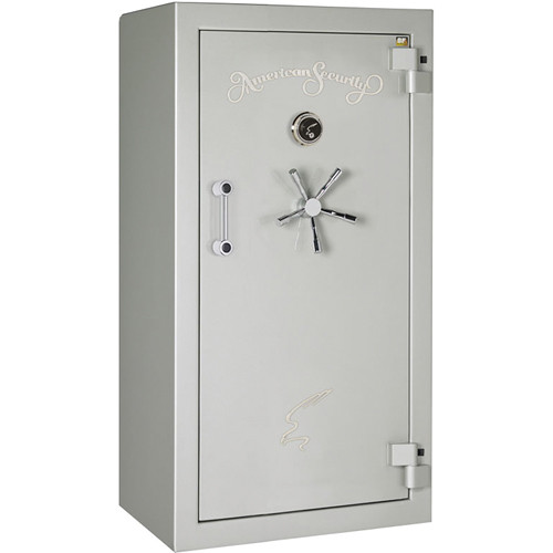 "American Security BF-Series Gun Safe (59.25 x 30 x 21"", High-Gloss Platinum Finish)"