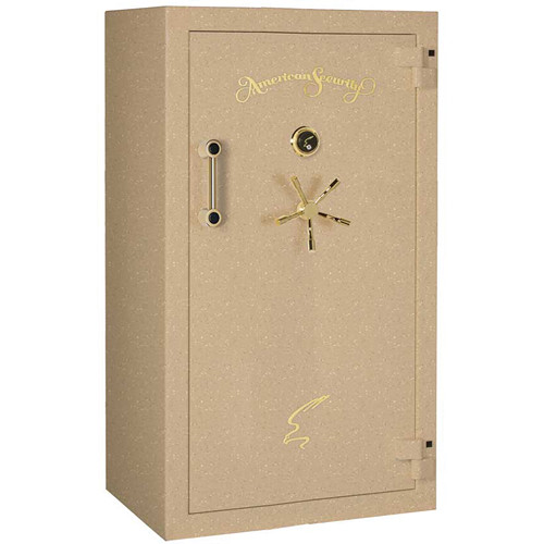 "American Security BF-Series Gun Safe (65.25 x 36 x 26"", Textured Sandstone Finish)"