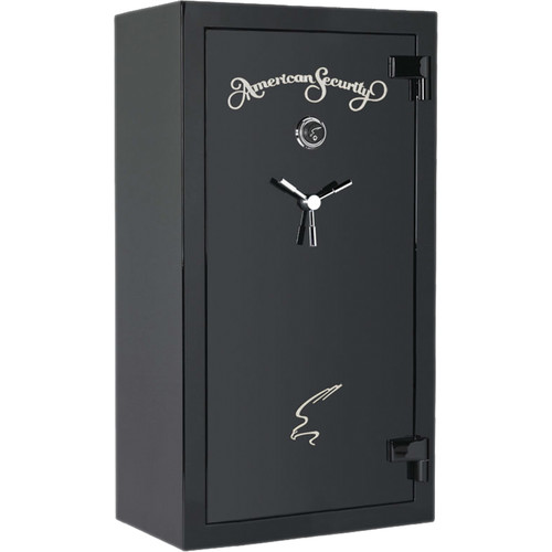 American Security SF-Series 30-Gun Safe (High-Gloss Onyx Finish)