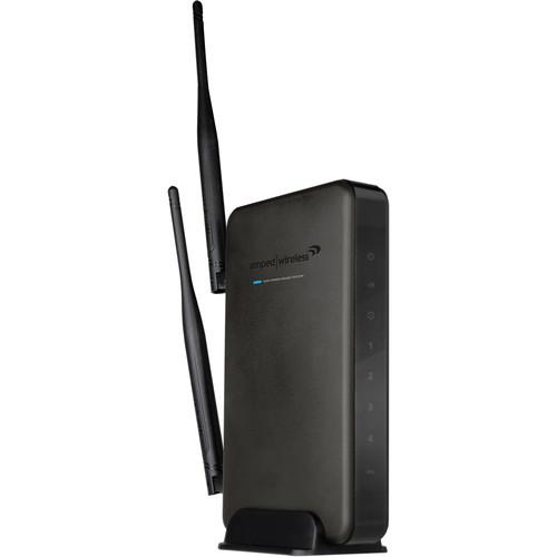 Amped Wireless High Power Wireless-N 600mW R10000G Gigabit Router Kit with Amped Wireless Wi-Fi Range Extender