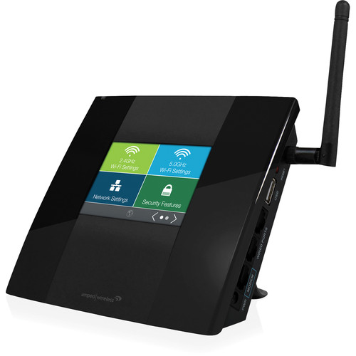 Amped Wireless TAP-R2 Touch Screen AC750 Wi-Fi Router