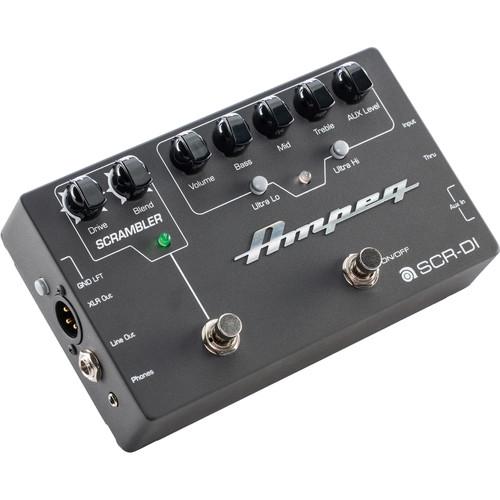 Ampeg SCR-DI Bass DI/Preamp with Scrambler Overdrive
