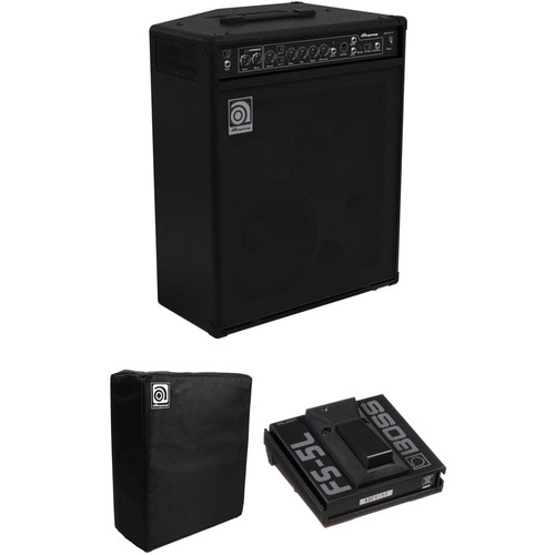 Ampeg BA-210V2 450W Bass Amplifier Kit with Boss FS-5L Footswitch