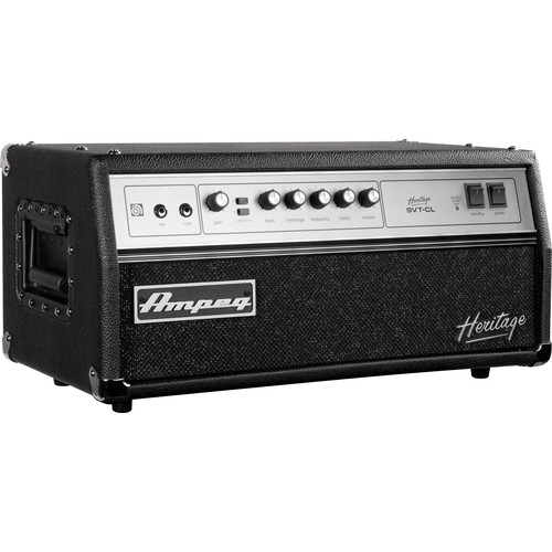 Ampeg Heritage SVT-CL 300W All-Tube Bass Amplifier Head