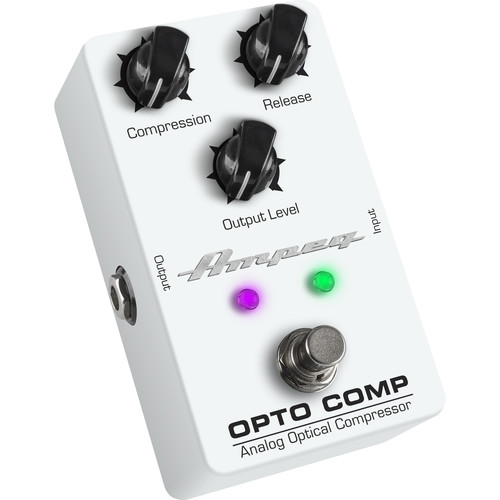 Ampeg OPTO COMP Analog Optical Compressor Pedal for Electric Bass