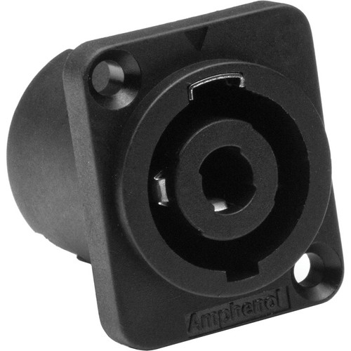 Amphenol SP Series 4 Pole Loudspeaker Chassis Connector with Solder Tabs