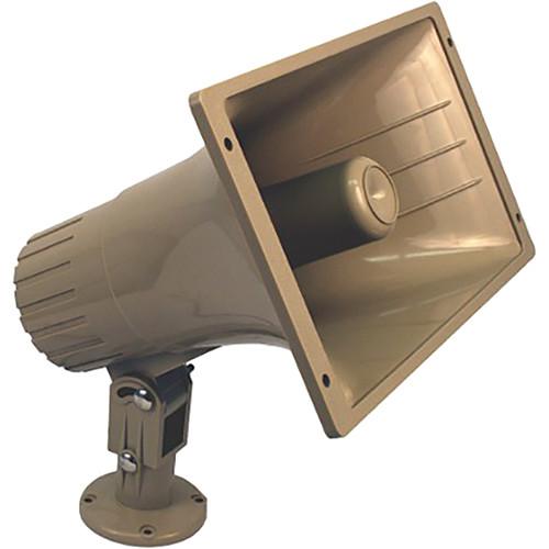 AmpliVox Sound Systems Indoor/Outdoor Line Transformer PA Speaker (32 W, 25 V/70 V)
