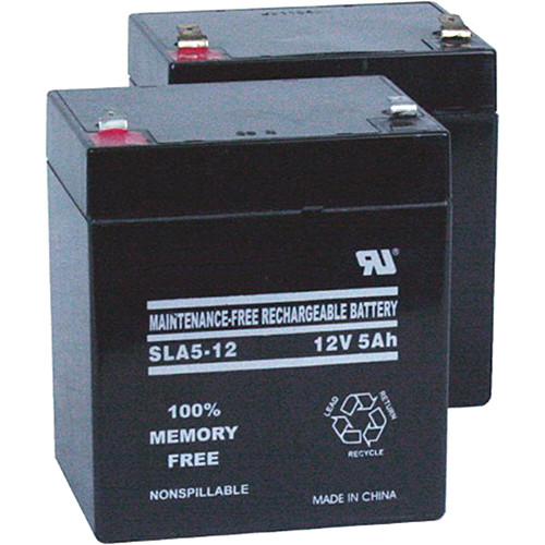 AmpliVox Sound Systems Set of 2 Replacement Batteries for SW800 Titan Wireless Portable PA System