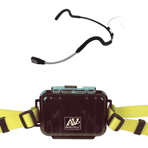 AmpliVox Sound Systems Waterproof Fitness Package