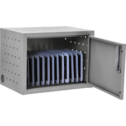AmpliVox Sound Systems 12-Space, Single-Door Charging Cabinet for Tablets
