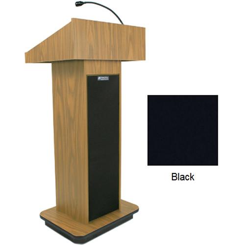 AmpliVox Sound Systems Executive Sound Column Lectern (Black)