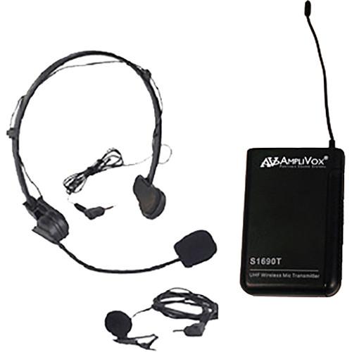 AmpliVox Sound Systems 2nd Wireless Mic Kit
