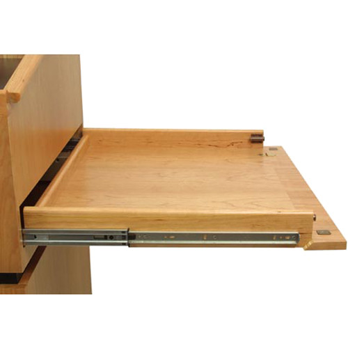 AmpliVox Sound Systems Elmo Document Camera Sliding Drawer and Door for SW3030 Solid Hardwood Lectern