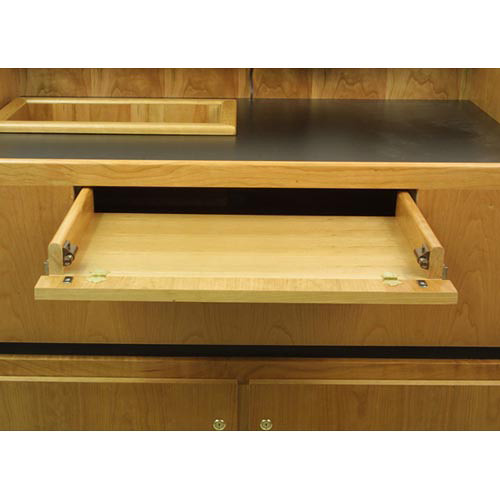 AmpliVox Sound Systems Keyboard Drawer for SW3030 Solid Hardwood Lectern