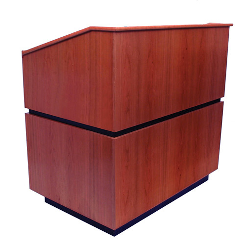 AmpliVox Sound Systems Coventry Lectern (Non-Sound, Mahogany)