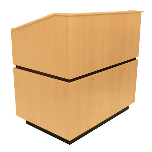 AmpliVox Sound Systems Coventry Lectern (Non-Sound, Maple)