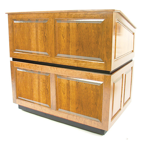 AmpliVox Sound Systems Ambassador Lectern (No Sound, Maple)