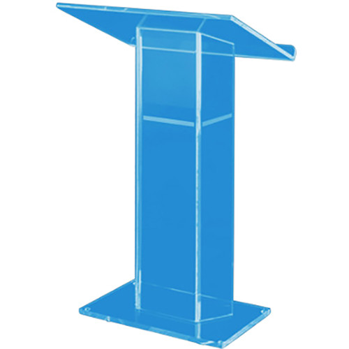 AmpliVox Sound Systems Large Top Custom Tint Acrylic Lectern