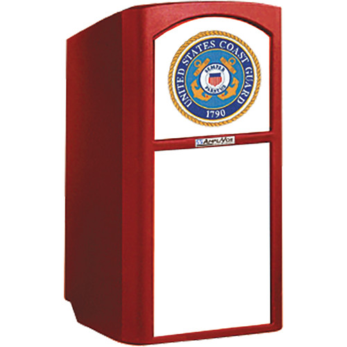 AmpliVox Sound Systems Non-Sound Collegiate Multimedia Lectern with Custom Insert (Custom Color)