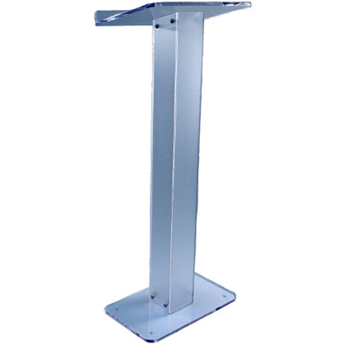 AmpliVox Sound Systems Frosted Non-Glare Acrylic-Lite Lectern