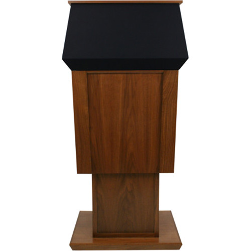 AmpliVox Sound Systems Patriot Plus Adjustable Height Lectern with Sound System
