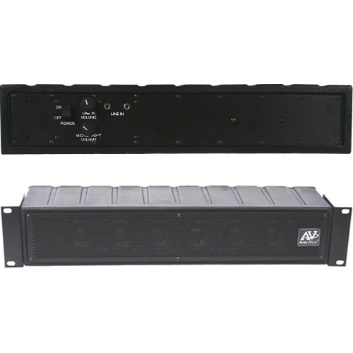 AmpliVox Sound Systems SSB1240 DUO TANDEM PA System