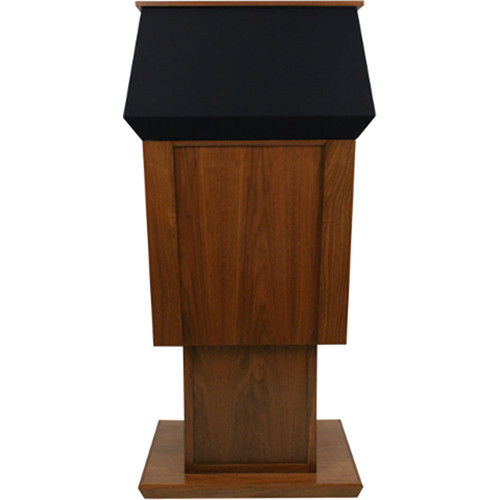 AmpliVox Sound Systems Wireless Patriot Adjustable Height Lectern