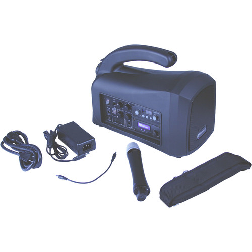AmpliVox Sound Systems SW320 Mity-Lite Plus Portable Bluetooth-Enabled PA System
