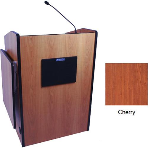AmpliVox Sound Systems SW3235-CH Wireless Multimedia Presentation Podium (Cherry)