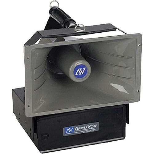 AmpliVox Sound Systems SW6210 Radio Hailer Wireless PA System with 2 MURS Radios