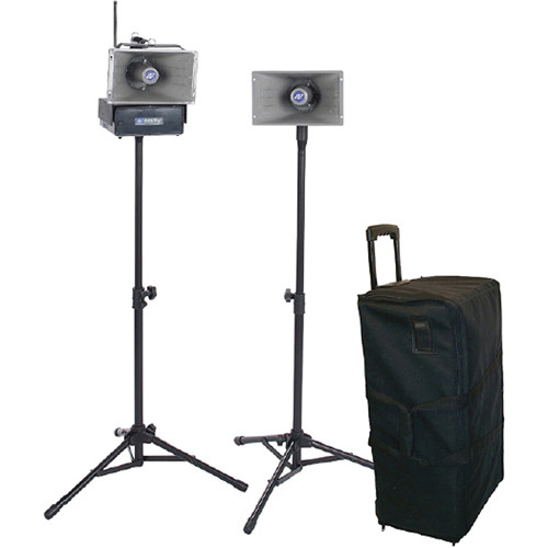 AmpliVox Sound Systems SW6220 Radio Hailer Command Control Center PA System